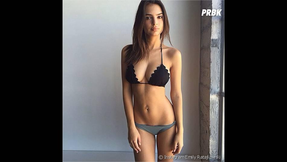 Emily Ratajkowski en sous-vêtements sur Instagram