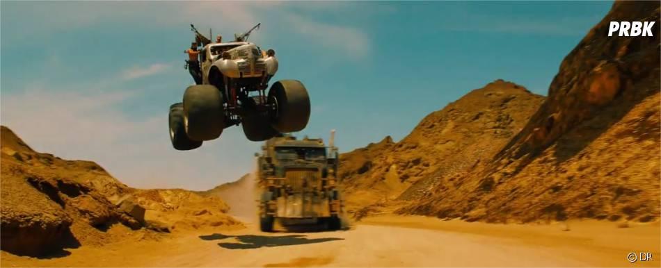 Mad Max Fury Road : cascades impresionnantes dans la bande-annonce