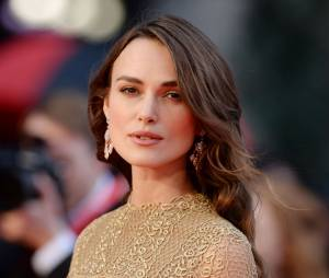 Keira Knightley à l'avant-première de The Imitation Game, le 8 octobre 2014 à Londres