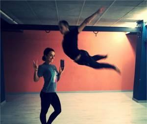 Alizée et Grégoire Lyonnet dans les coulisses des répétitions pour la tournée Danse avec les Stars