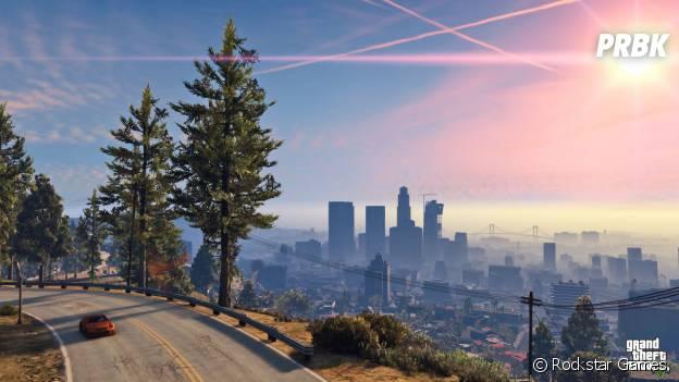 GTA 5 est disponible sur PS4 depuis le 18 novembre 2014