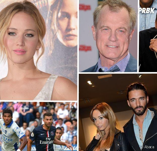 Jennifer Lawrence, Jay-Z, Nabilla... les scandales de l'année chez les stars