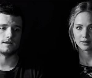 Josh Hutcherson, Jennifer Lawrence et tout le casting d'Hunger Games dans un spot solidaire contre le virus Ebola
