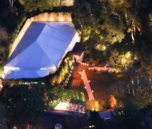 Cameron Diaz et Benji Madden : vue aérienne de leur maison après le mariage