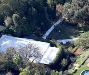 Cameron Diaz et Benji Madden : vue de leur maison de Beverly Hills où a eu lieu leur mariage