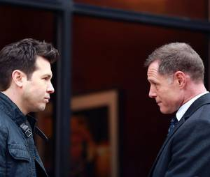 Chicago Police Department saison 1 : Dawson (Jon Seda) et Voight (Jason Beghe) anciens ennemis