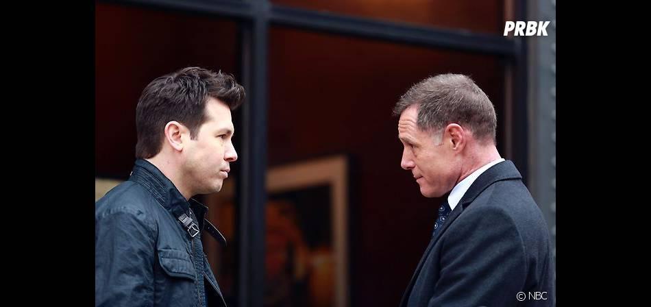 Chicago Police Department saison 1 : Dawson (Jon Seda) et Voight (Jason Beghe) anciens ennemis