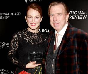 Timothy Spall et Julianne Moore au National Board of Review Gala, le 6 janvier 2015 à NY