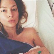 Caroline Receveur opérée : photo depuis son lit d'hôpital pour donner de ses nouvelles