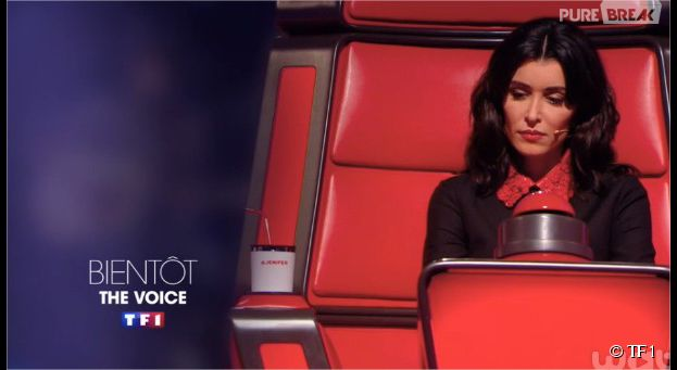The Voice 4 : Jenifer dans son fauteuil rouge