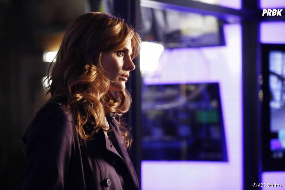 Castle saison 6 : Stana Katic (Beckett) sur une photo