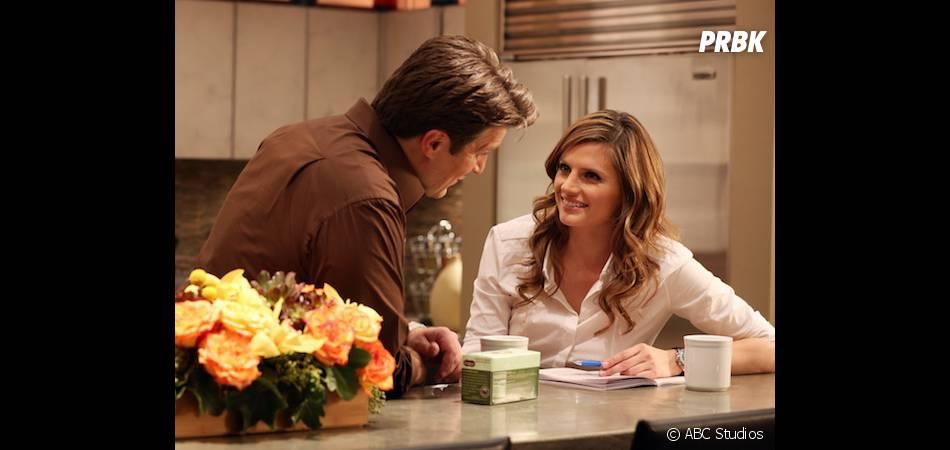 Castle saison 6 : Nathan Fillion et Stana Katic sur une photo