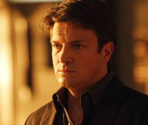 Castle saison 6 : Nathan Fillion sur une photo