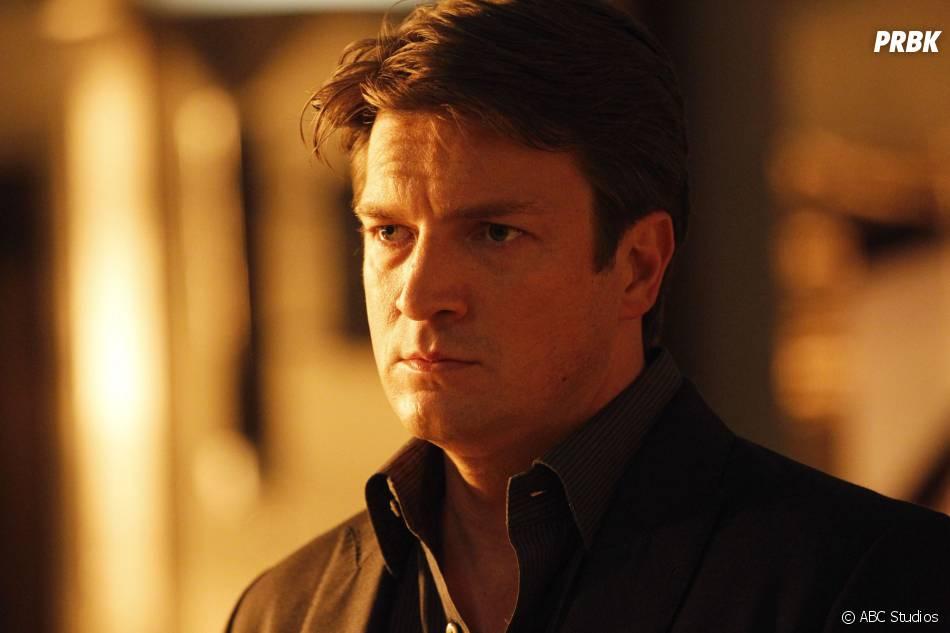 Castle saison 6 : Nathan Fillion sur une photo