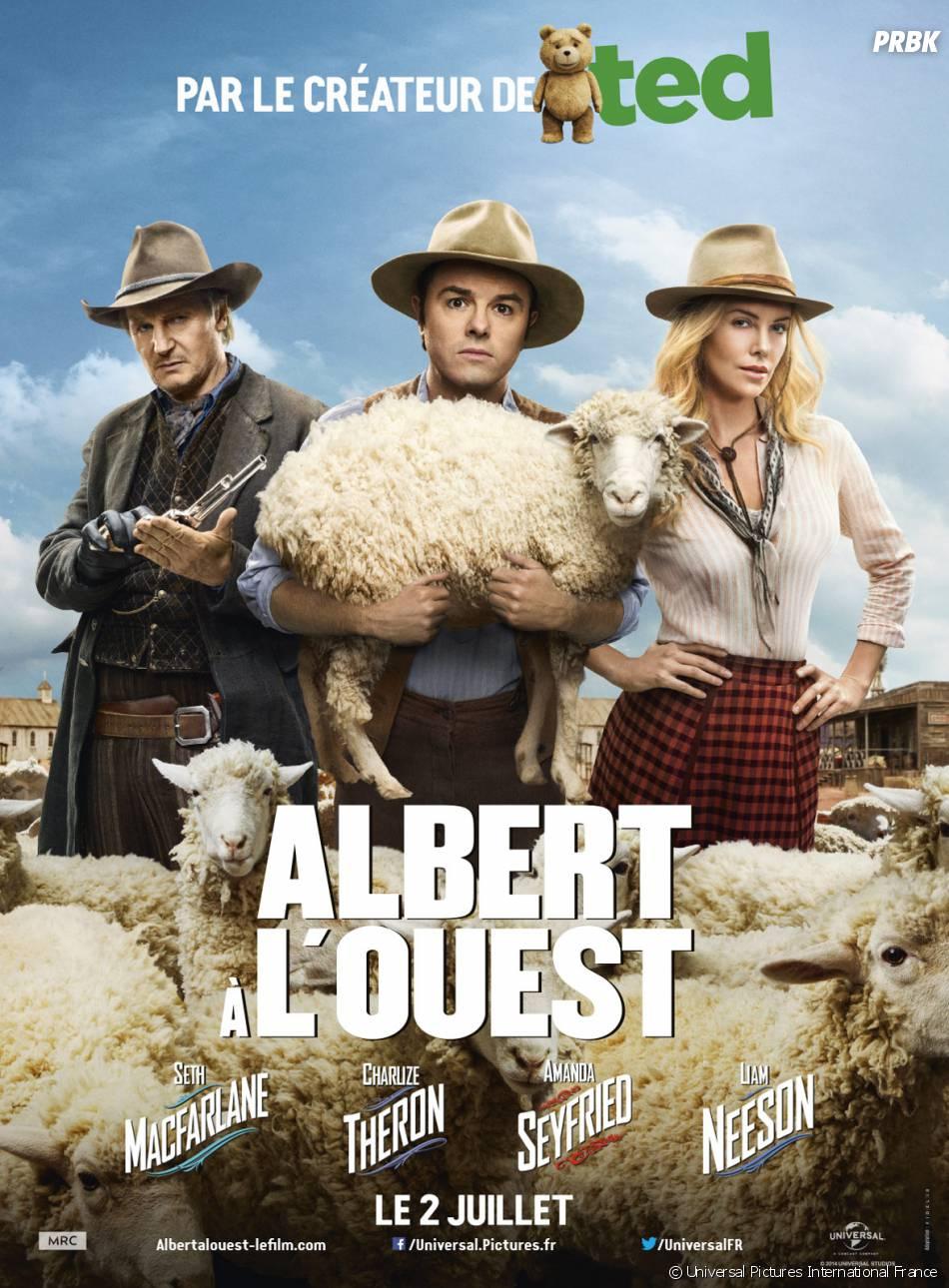 Albert à l'ouest nommé aux Razzie Awards 2015