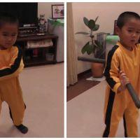 On a trouvé le nouveau Bruce Lee... et il a 4 ans !