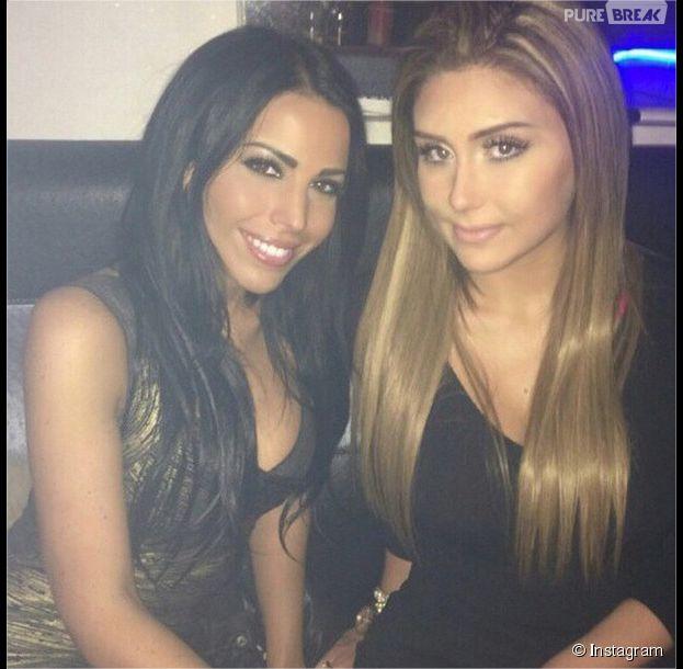 Siham Bengoua et Eglantine Aguilar (Les Princes de l'amour 2) : prétendantes ennemies de Samir, mais amies dans la vraie vie