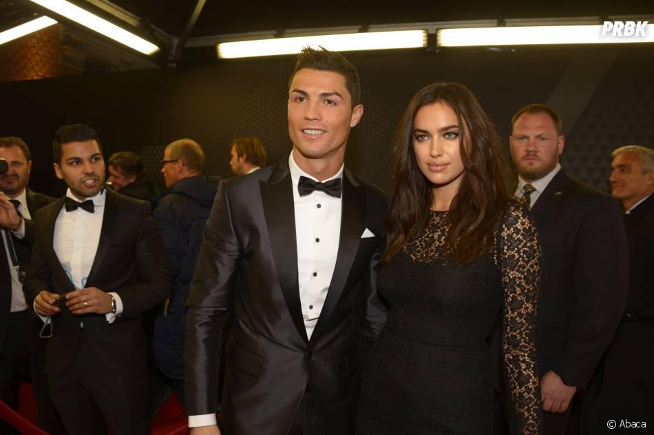 Cristiano Ronaldo et Irina Shayk en couple au Ballon d'or 2013 à Zurich