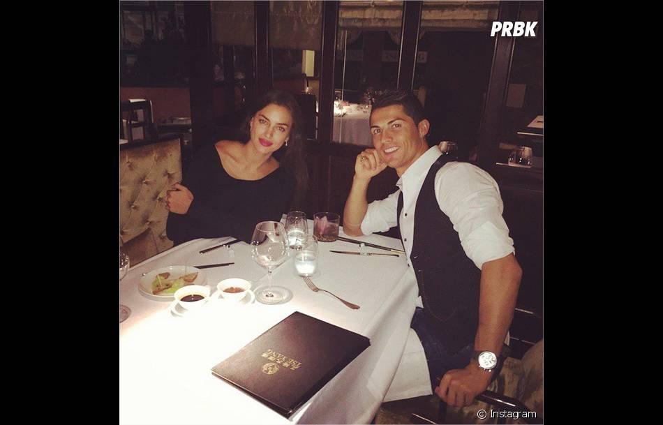 Cristiano Ronaldo et Irina Shayk : dîner en amoureux sur Instagram avant la rupture