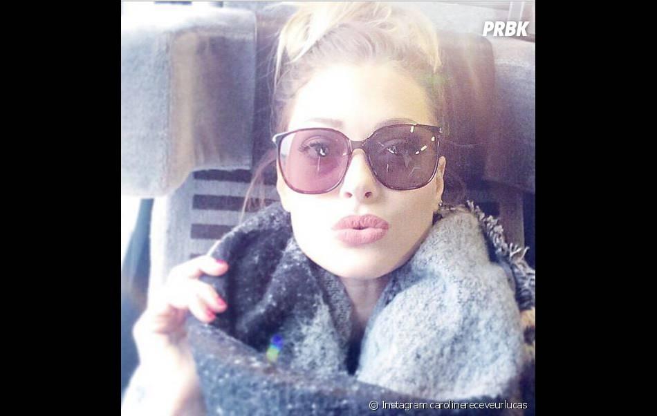 Caroline Receveur : son déménagement à Londres annoncé sur Instagram, le 22 janvier 2015