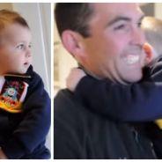 Trop mignon : ce petit garçon rencontre le frère jumeau de son père pour la première fois