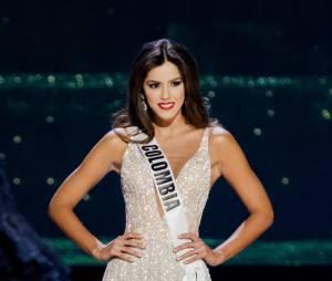Miss Univers 2015 : Paulina Vega sacrée gagnante, à Miami, le 25 janvier 2015