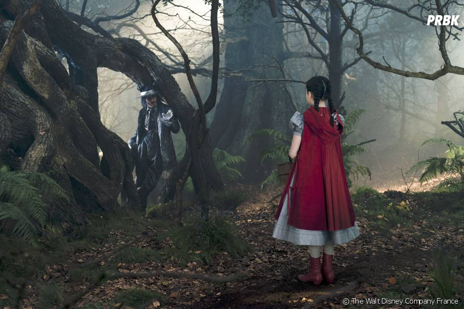 Into the Woods : Johnny Depp est le Loup face au Petit Chaperon Rouge