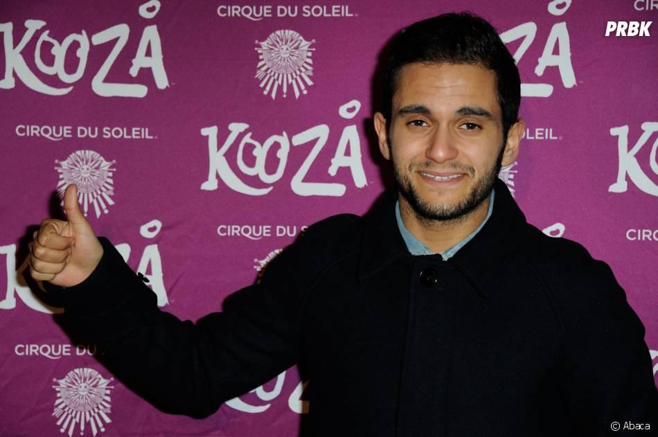 Malik Bentalha à l'avant-première du spectacle Kooza, le 26 novembre 2013