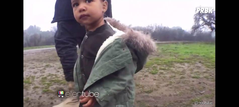 Kanye West invite North West dans son clip Only One