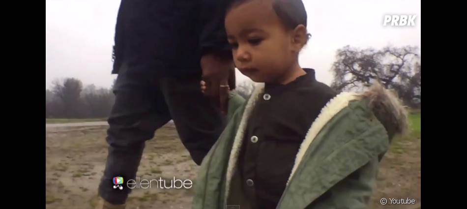 Kanye West : North West dans le clip Only One