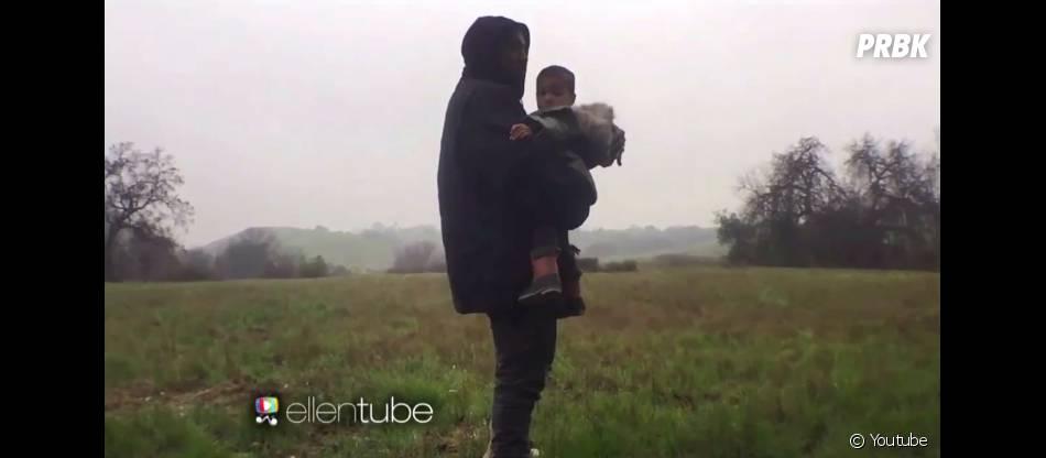 Kanye West et North West : clip mignon pour Only One
