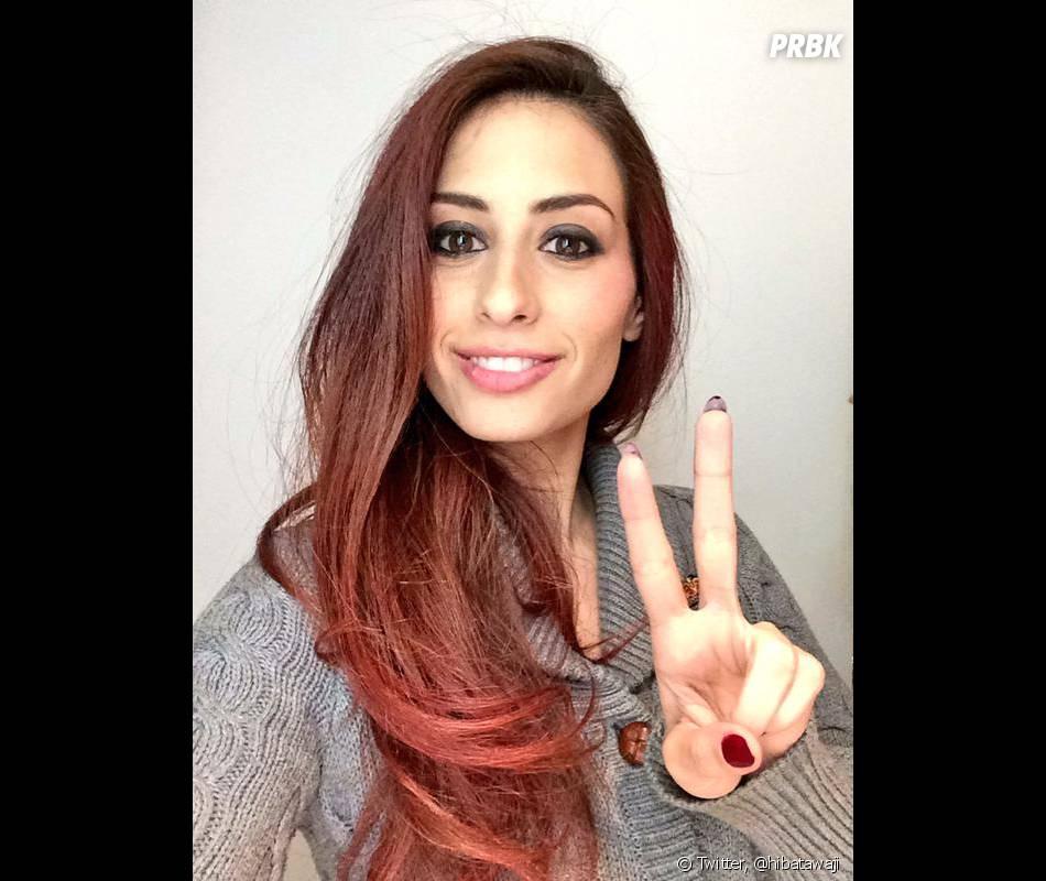 Hiba Tawaji prend la pose sur son compte Twitter