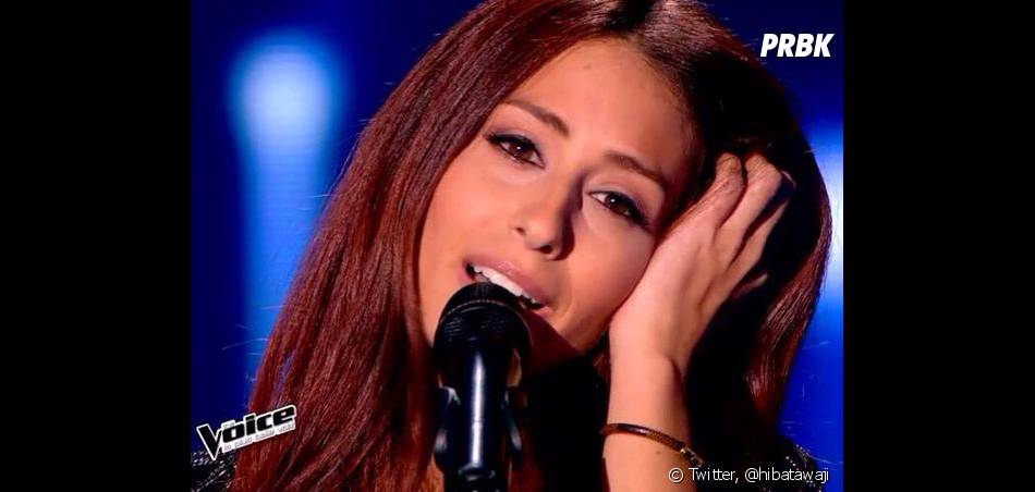 Hiba Tawaji sublime sur le plateau de The Voice 4 en 2015 sur TF1
