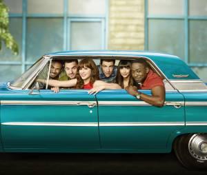 New Girl saison 4 : photo promotionnelle du casting