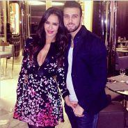 Leila Ben Khalifa sexy et décolletée pour une soirée avec Aymeric Bonnery