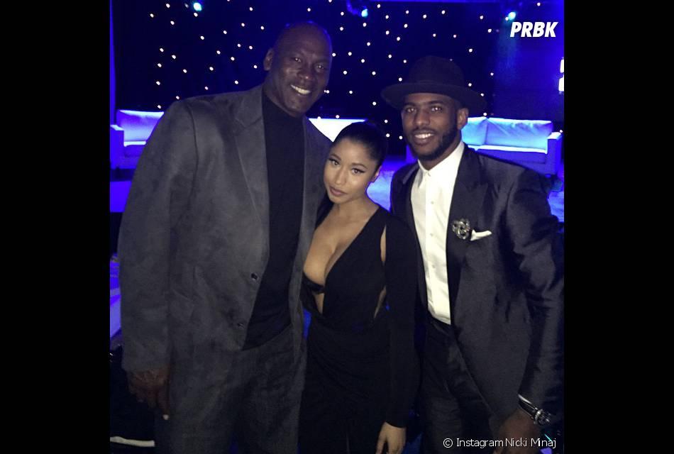 Nicki Minaj à la soirée annuelle du All-Star week-end, le 13 février 2015
