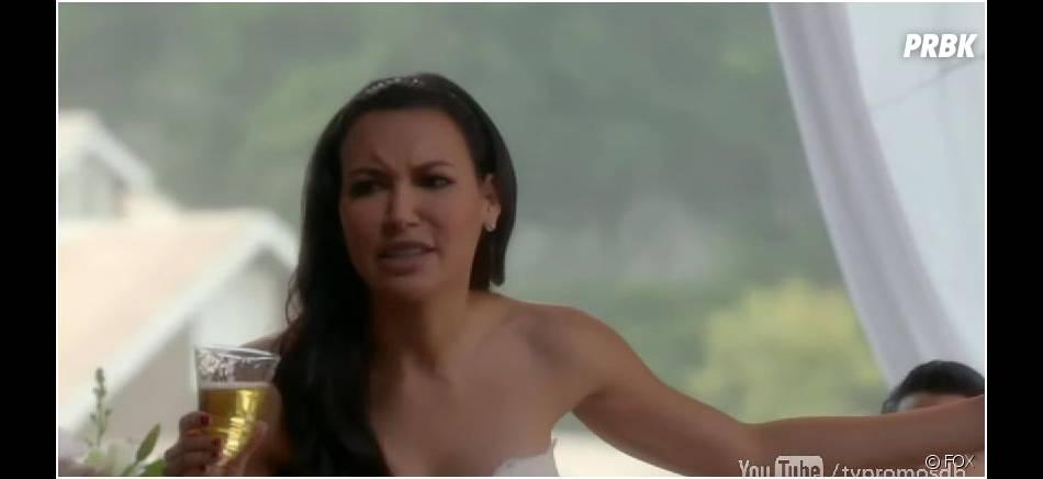 Glee saison 6, épisode 8 : mariage pour Santana (Naya Rivera)
