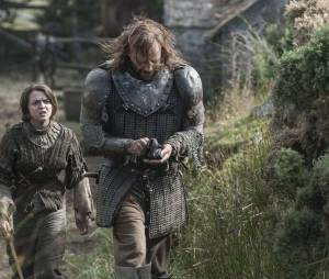 Game of Thrones : Arya (Maisie Williams) sur une photo