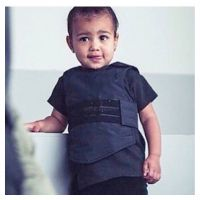 Kim Kardashian : North West en gilet pare-balles, la photo qui fait polémique