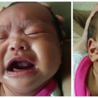 Ce père n'a trouvé qu'une seule façon d'endormir son bébé, et c'est plutôt surprenant !
