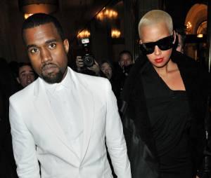 Kanye West : Amber Rose attaque Kim Kardashian au sujet de sa sex tape