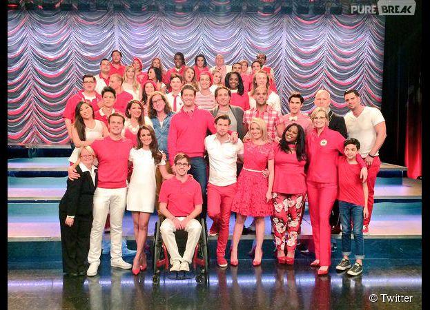 Glee saison 6 : photo des acteurs pour la fin du tournage