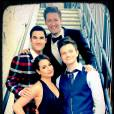 Glee saison 6 : Lea Michele, Chris Colfer, Darren Criss et Matthew Morrison sur les plateaux pour la fin du tournage