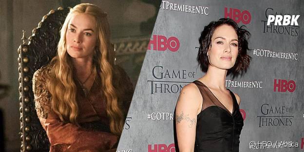Lena Headey dans Game of Thrones et dans la vie