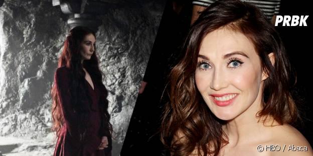 Carice Van Houten dans Game of Thrones et dans la vie