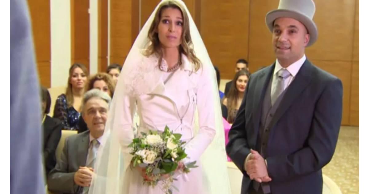Laury Thilleman se marie à un inconnu lors d\u0027une cérémonie