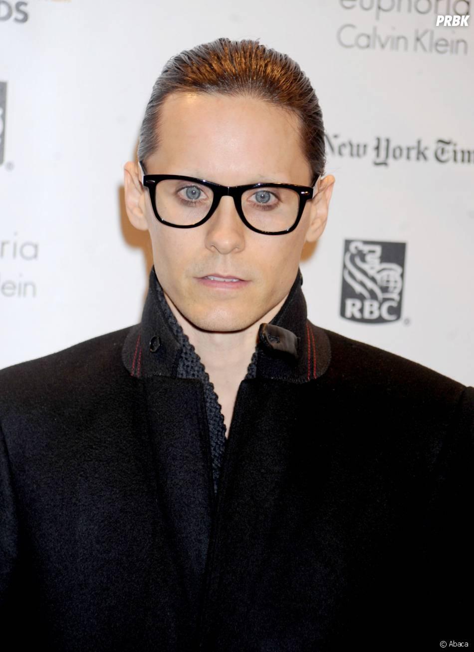 Jared Leto : sans barbe mais amaigri après le tournage de Dallas Buyers Club en 2012