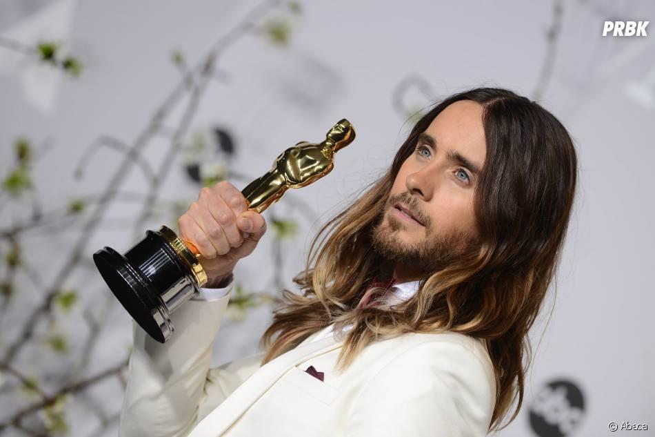 Jared Leto lors de la cérémonie des Oscars 2014