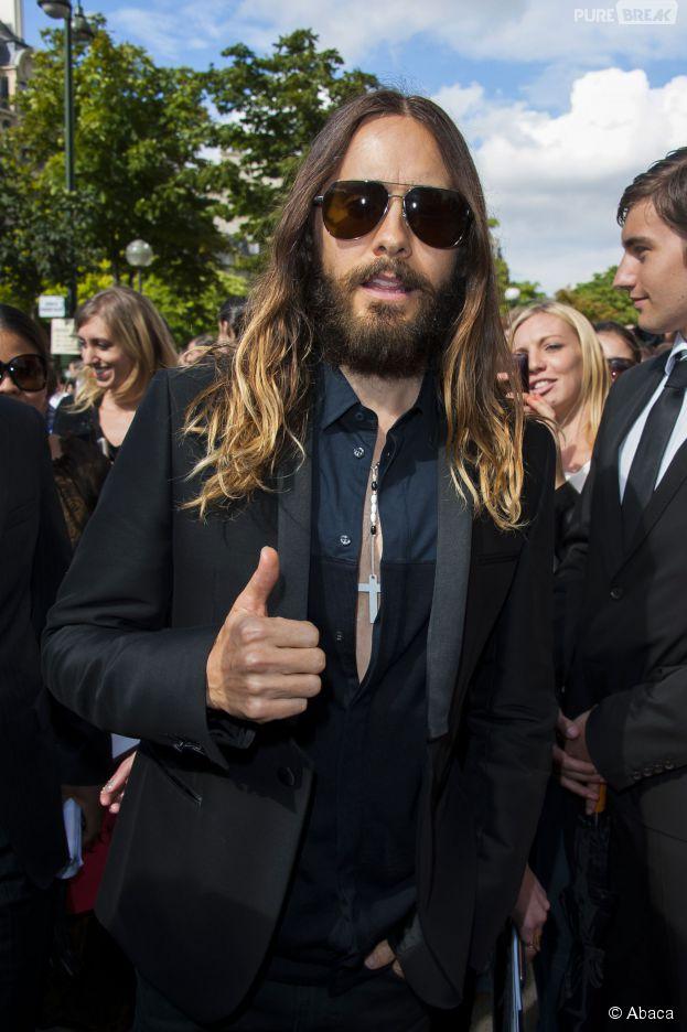 Jared Leto : fini les cheveux longs et la barbe