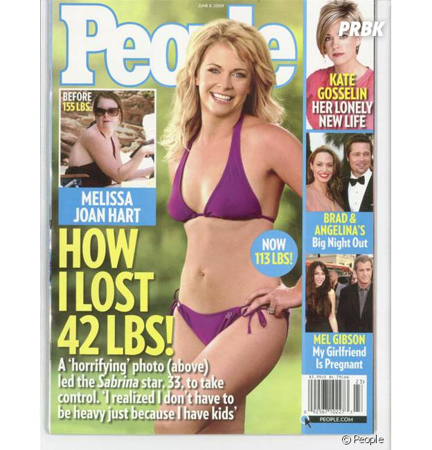 Sabrina, l'apprentie sorcière : la métamorphose de l'actrice Melissa Joan Hart, en Une du magazine People en 2009